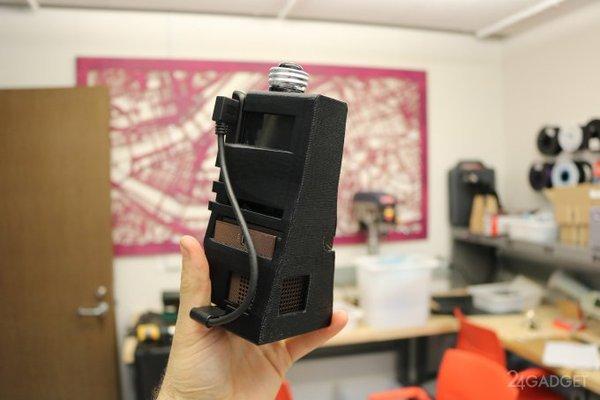 Проекционный интерактивный интерфейс на обычном столе проекция, интерфейс, управление, интерактивный экран, камера, видео, длиннопост