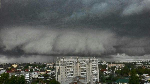 Ульяновск уходит под воду Ульяновск, потоп, ливень, Дождь, ураган, погода, новости, город, видео, длиннопост