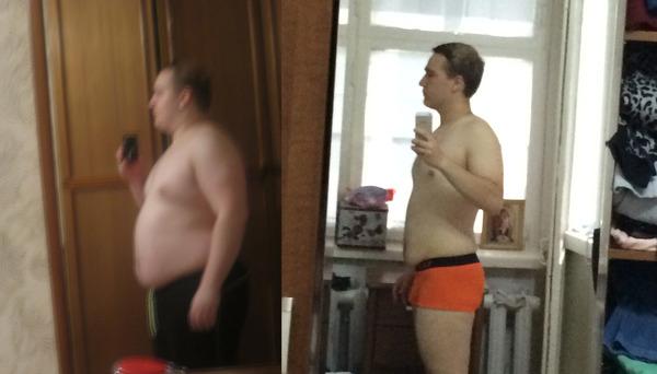 За год похудел на 40 кг Жирные, свинья, худоба, похудение, здоровье, бег, спорт