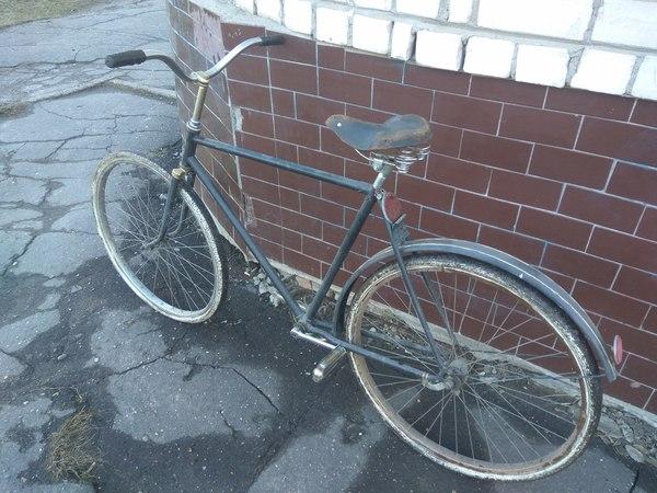 """Жила была """"Десна"""" велосипед, покраска, robertkoff, моё, пятничный тег моё, десна, советский велосипед, длиннопост"""