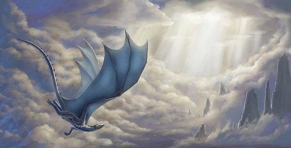 Долина перемен рассказ, фэнтези, дракон, осень, длиннопост
