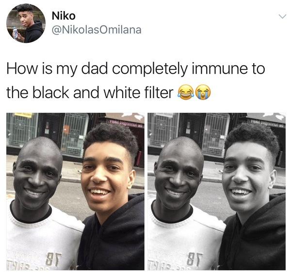 Негр дал белому