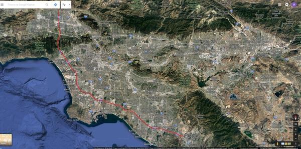 Ночное. Карты, Лос-Анджелес Google, Карты, Яндекс карты, Я люблю изучать карту, Масштаб поражает, Coub, Длиннопост