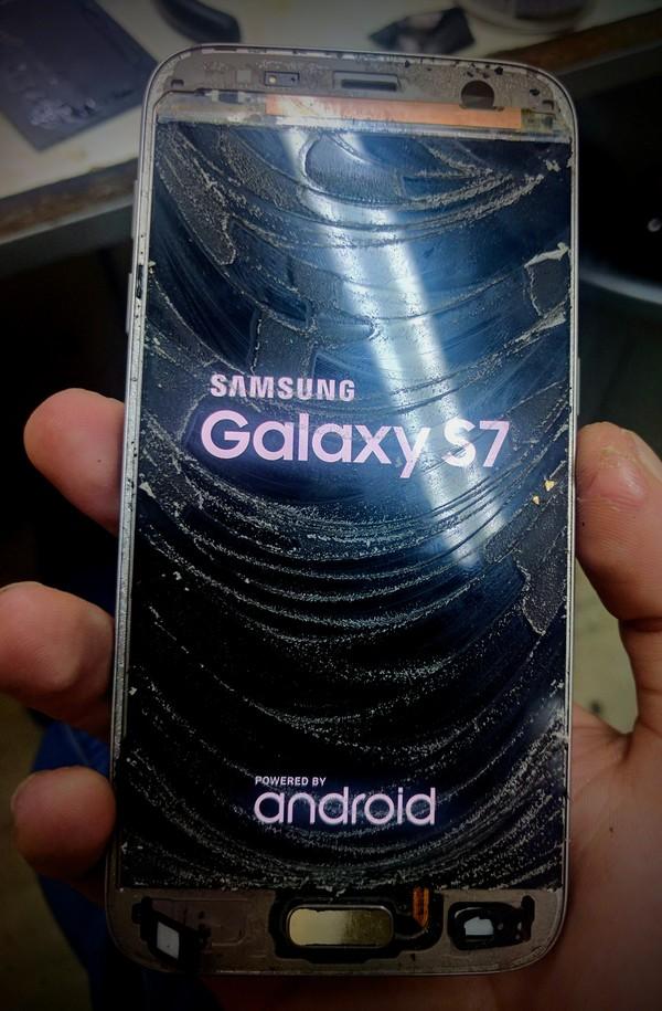 Восстановление экрана на Samsung s7 /OCA Samsung galaxy s7, Ремонт техники, OCA, Длиннопост
