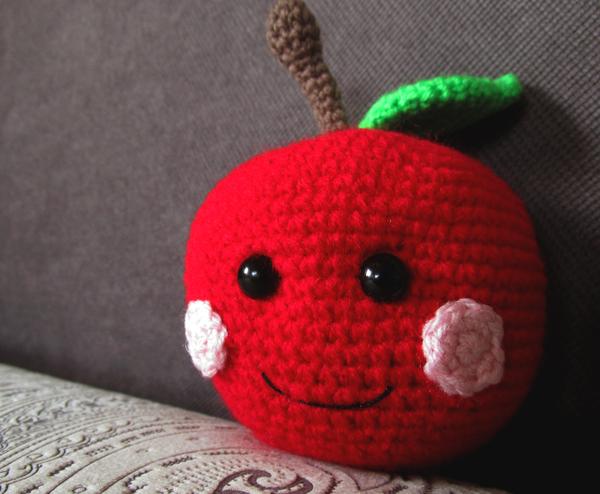 Веселые фрукты рукоделие без процесса, фрукты, игрушки, своими руками, рукоделие, вязание крючком, милота, Дети