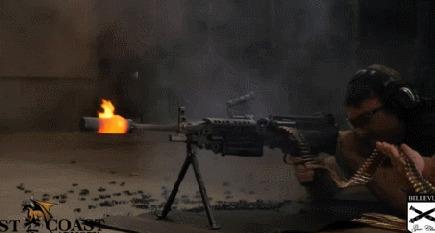 Что произойдет с глушителем на пулемёте