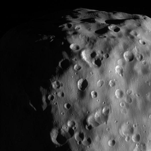 """Эпиметей - """"картофельный"""" спутник Сатурна Сатурн, Эпиметей, космос"""