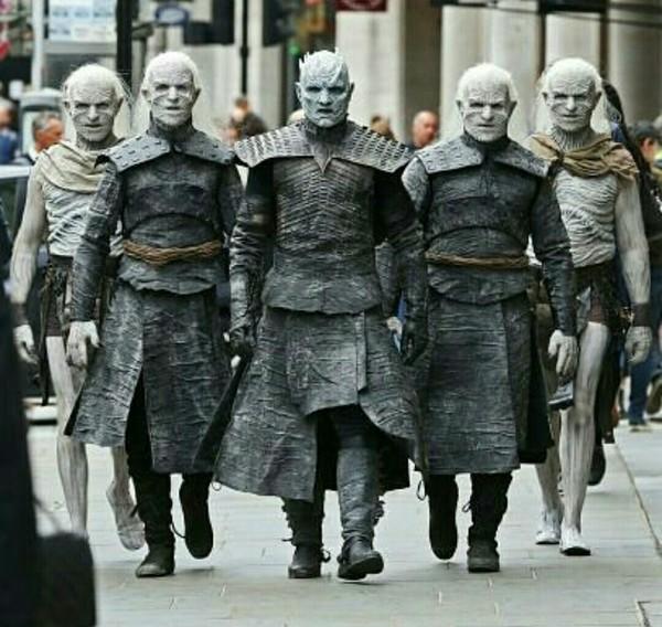 Белые ходоки прогулялись по Лондону. ИП, Игра престолов, плио, Лондон, Белые ходоки, фотография, длиннопост