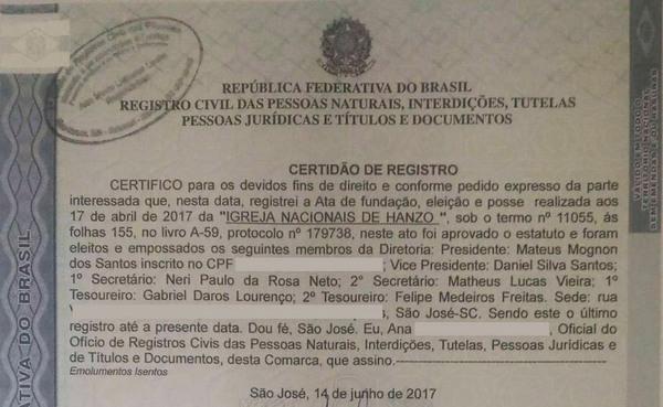 Фанат Overwatch основал настоящую Церковь Хандзо overwatch, Бразилия, религия, Игры, хандзо