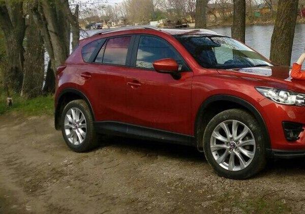 Угнали автомобиль в Санкт-Петербурге угон, Mazda CX5, помощь