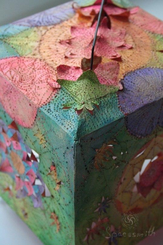 Древний фонарь или приятно находить на компе фото старых работ:) моё, фонарь, ручная работа, handmade, рукоделие без процесса, бумага, ночник, творчество