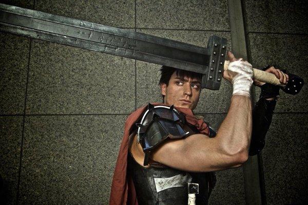 Berserk cosplay косплей, берсерк, гатс, длиннопост