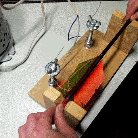 Формирование оперения стрел стрельба из лука, стрела, своими руками, сделай сам, лук и стрелы, гифка