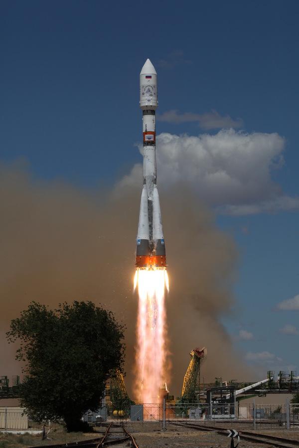 """Старт РН """"Союз 2.1а"""" с 73 спутниками космос, Союз, ракета, старт, Байконур, видео, длиннопост"""