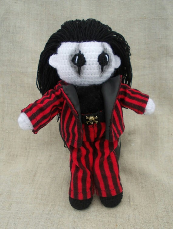 Сделала очередного парня Кукла, Вязание крючком, Элис купер, Кукла Вуду, Своими руками, Амигуруми, Длиннопост