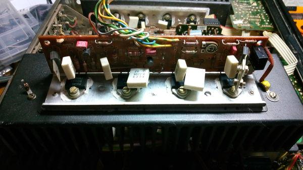 """Ремонт усилителя """"SABA MI215"""" Ремонт электроники, Самара, Folk Audio Custom, Усилитель, Длиннопост"""