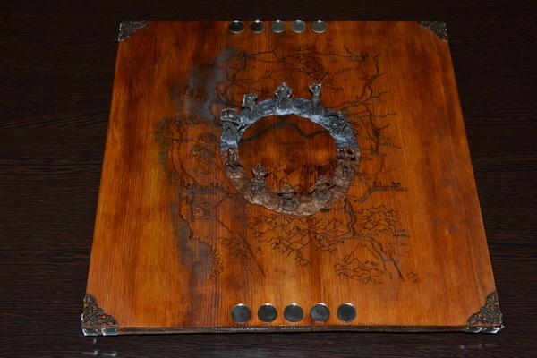 Еще один эксперимент с покером на костях, вот такая доска получилась в память о Соддене Покер на костях, Ведьмак, Содден, Битва на Содденском Холме, The Witcher 3:Wild Hunt, Длиннопост