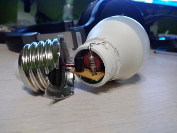 А почему бы и не разобрать? LED лампочка. LED, Светодиодные светильники, Разбор, Ремонт техники, Длиннопост