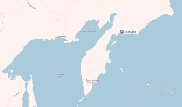 Посёлок Корф. Природный авианосец. Камчатка, Камчатский край, Корякский АО, Корф, длиннопост