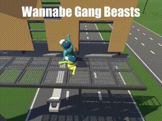 Gang Beasts VS Реальная жизнь
