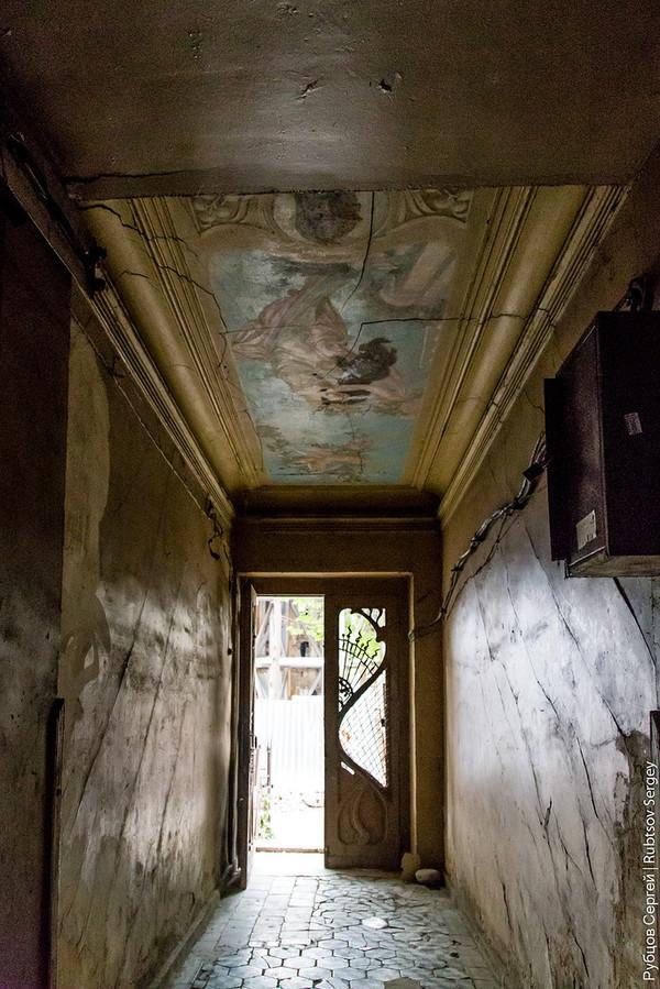Парадные старого Тифлиса заброшенное место, Тбилиси, Грузия, Парадные, длиннопост, урбанфото