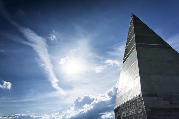 Новая Пирамида на Новорижском шоссе. Пирамида, Новорижское шоссе, Подмосковье, Голод, Видео, Длиннопост