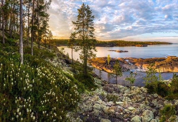 Ладожское озеро карелия, фотография, Природа, пейзаж, надо съездить, Россия, Озеро, длиннопост