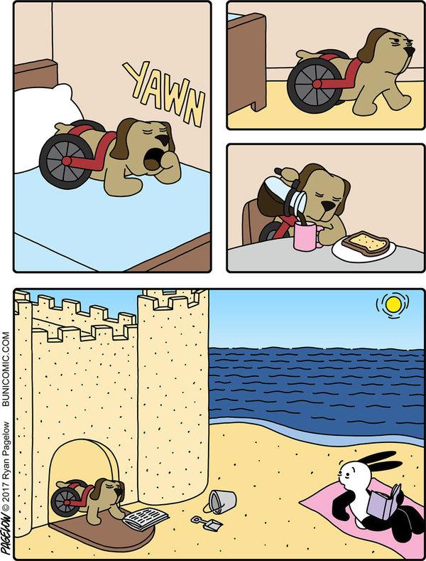 Песочный замок.