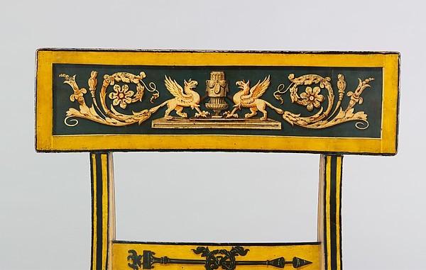 Очень симпатичный стул в античном стиле стул, 19 век, мебель