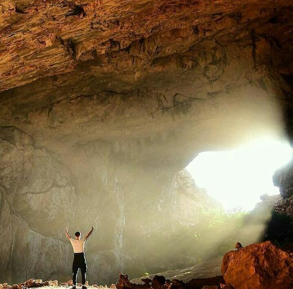 Пещера Ак-Мечеть, 70 км. от Шымкента. Казахстан, Шымкент, Пещера, Природа, Спелеология