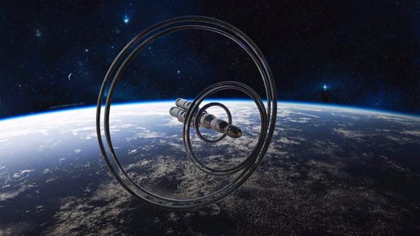 Spaceship космос, Космический корабль