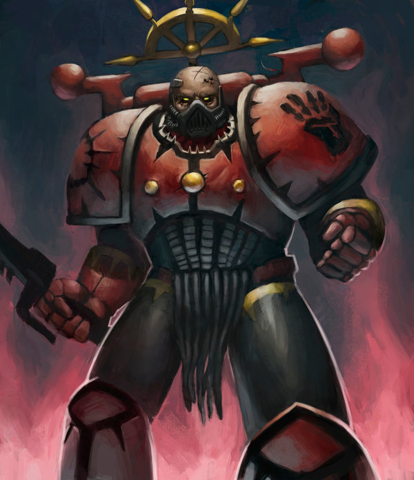 Red Corsair Warhammer 40k, wh art, фан-арт, космодесант, хаос, chaos space marines
