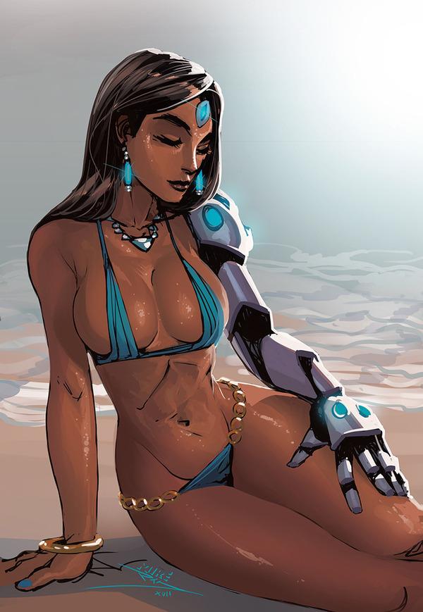 Очень много Overwatch Arts Overwatch, Symmetra, Mercy, Sombra, McCree, Lucio, Reaper, Арт, длиннопост