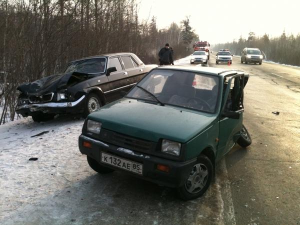 Наглядный пример того, как Волга впадает в Оку Волга, ДТП, Ока, Впадать