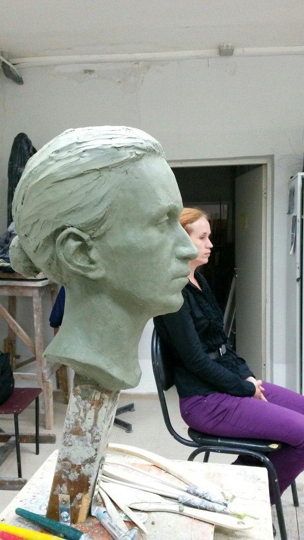 Моя вступительная голова скульптура, Вступительные испытания, длиннопост
