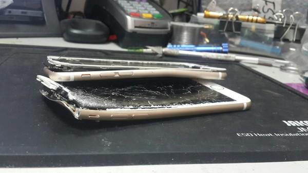 Принесли сейчас в ремонт Iphone 7, Iphone 6, Ремонт техники
