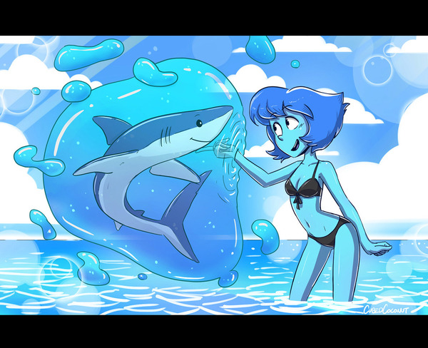 Дружба с акулами Steven Universe, Lapis Lazuli