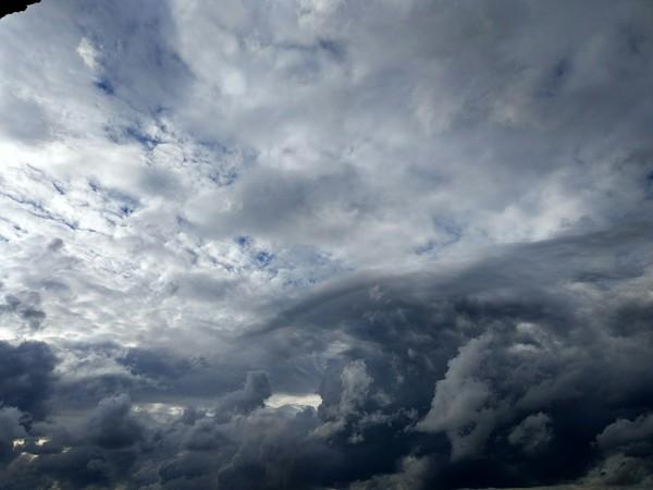 Небо тучи облака. Фотография, Xiaomi Mi5s, Облака, Длиннопост