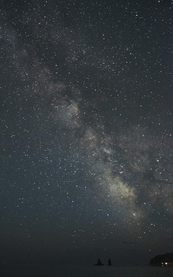 Млечный путь на kit объектив. фотография, nikon, дальнегорск