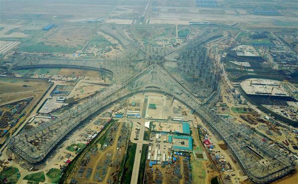 Cамый большой аэропорт в мире Заха Хадид, аэропорт, самый большой в мире, длиннопост, Китай