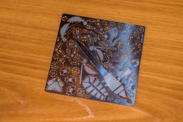 Сборка металлической 3D модели: скорпионушка Сборка модели, металлическая модель, скорпион, Кривые руки, длиннопост