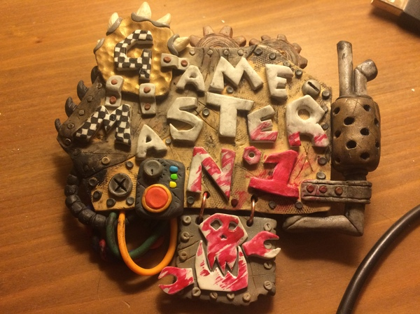 Game master №1 Warhammer 40k, полимерная глина, творчество, длиннопост