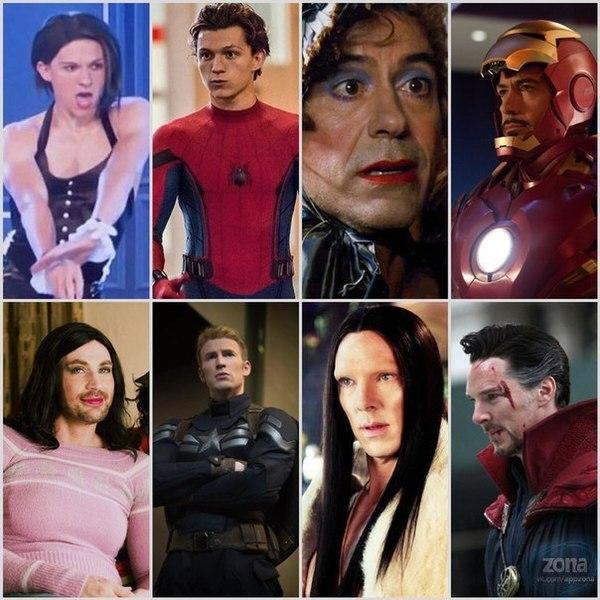 Чтобы стать Мстителем, надо пройти через многое... мстители, актеры, юмор, Marvel
