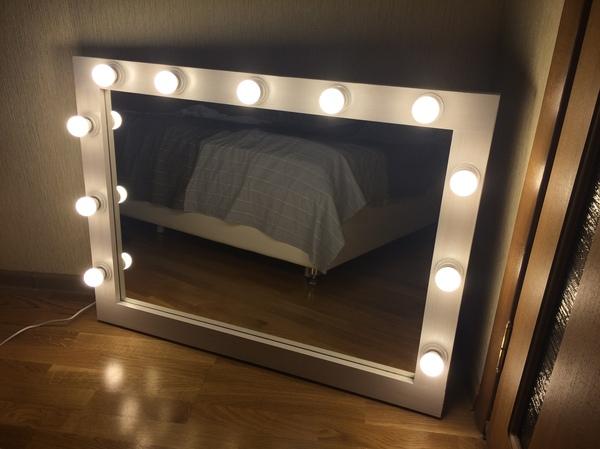 Зеркало для визажиста своими руками Гримерное зеркало, своими руками, длиннопост, зеркало, макияж