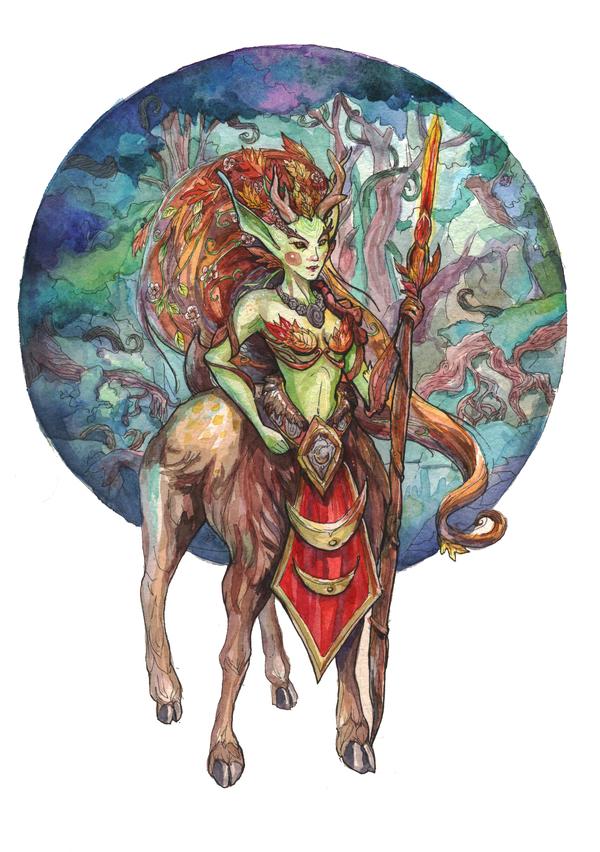 Лунара, дочь Кенария