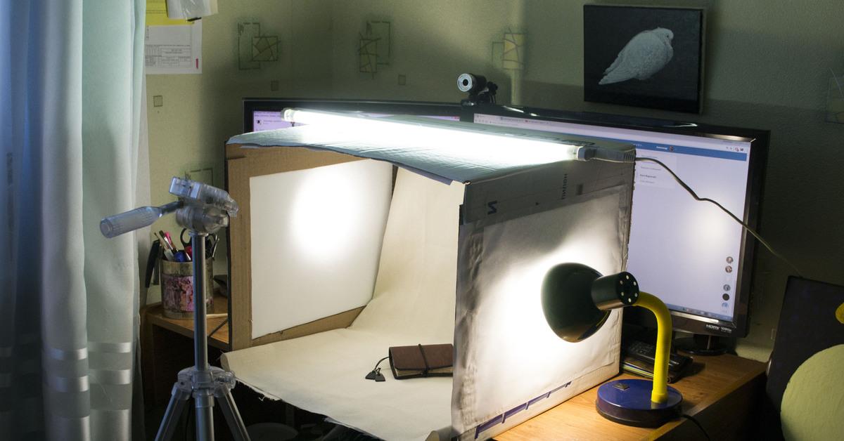 какие лампы нужны для фотобокса них есть открытые