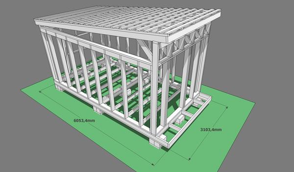 Мастерская Строительство, каркасный дом, проект, своими руками, гараж