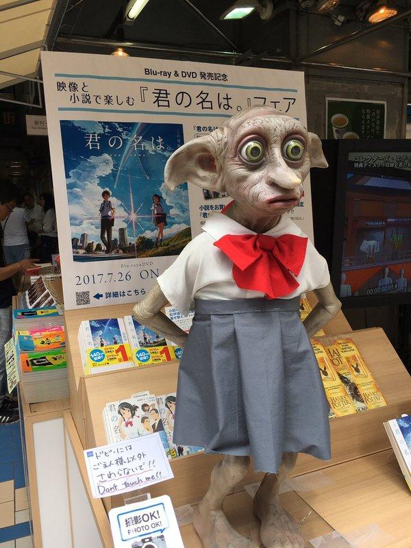 Приключения Добби в Японии