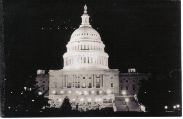 Вашингтонская карусель НЛО, фотография, вашингтон, белый дом