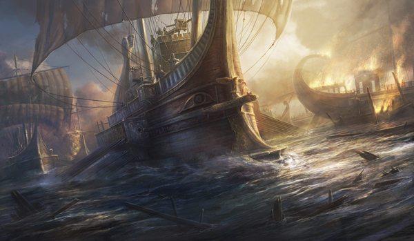 Пираты античности и их предводитель Секст Помпей, сын Помпея Великого. история, Интересное, познавательно, Секст Помпей, пираты, Октавиан Август, Гражданская война, античность, длиннопост